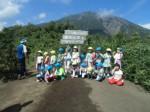 画像:山頂では雄大な岩手山が間近に迫っていました