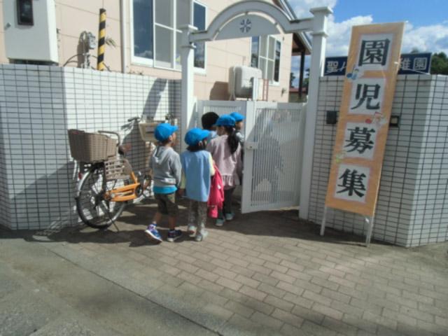 画像:平成30年度の「園児募集」も10/2から始まりました!