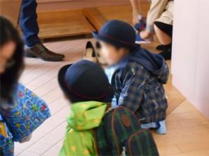 画像:今日から幼稚園!うれしいなぁ