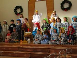 クリスマス聖劇礼拝